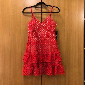 Lulu's Crocheted Dress-size small